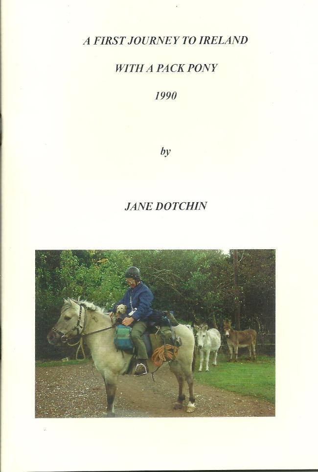 Jane Dotchin First journey to Ireland with a pack pony